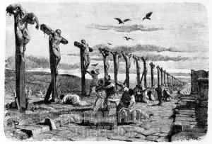 Romersk avskräckningsmetod